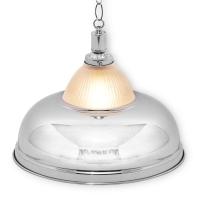 """Светильник бильярдный для стола 3-12 футов Crown silver"""" 1 плафон"""