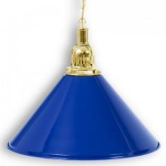 """Бильярдный светильник для стола 6 футов """"Golden Blue"""" 1 плафон"""