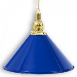 """Светильник бильярдный для стола 3-12 футов """"Golden Blue"""" 1 плафон"""