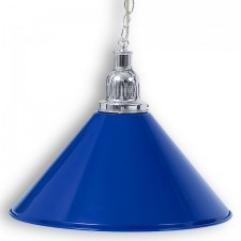 """Светильник бильярдный для стола 3-12 футов """"Silver Blue"""" 1 плафон"""