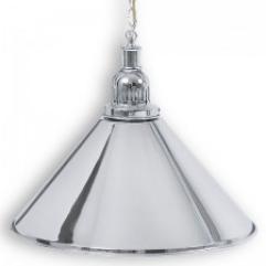 """Бильярдный светильник для стола 6-7 футов """"Silver"""" 1 плафон"""