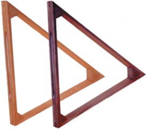 Треугольник для шаров дубовый