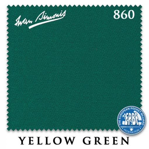 СУКНО IWAN SIMONIS 860 198СМ YELLOW GREEN